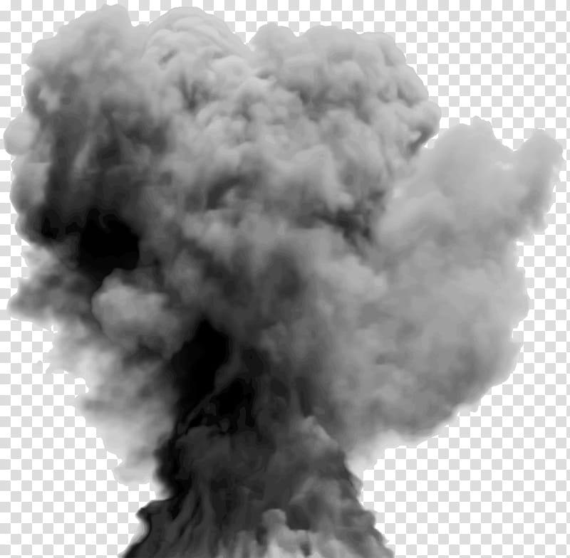 Smoke explosion gray.