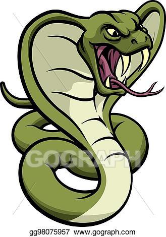 Vector stock cobra.
