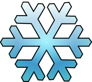 Snowflake clipart transparent.