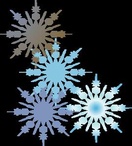Free snowflake frame.
