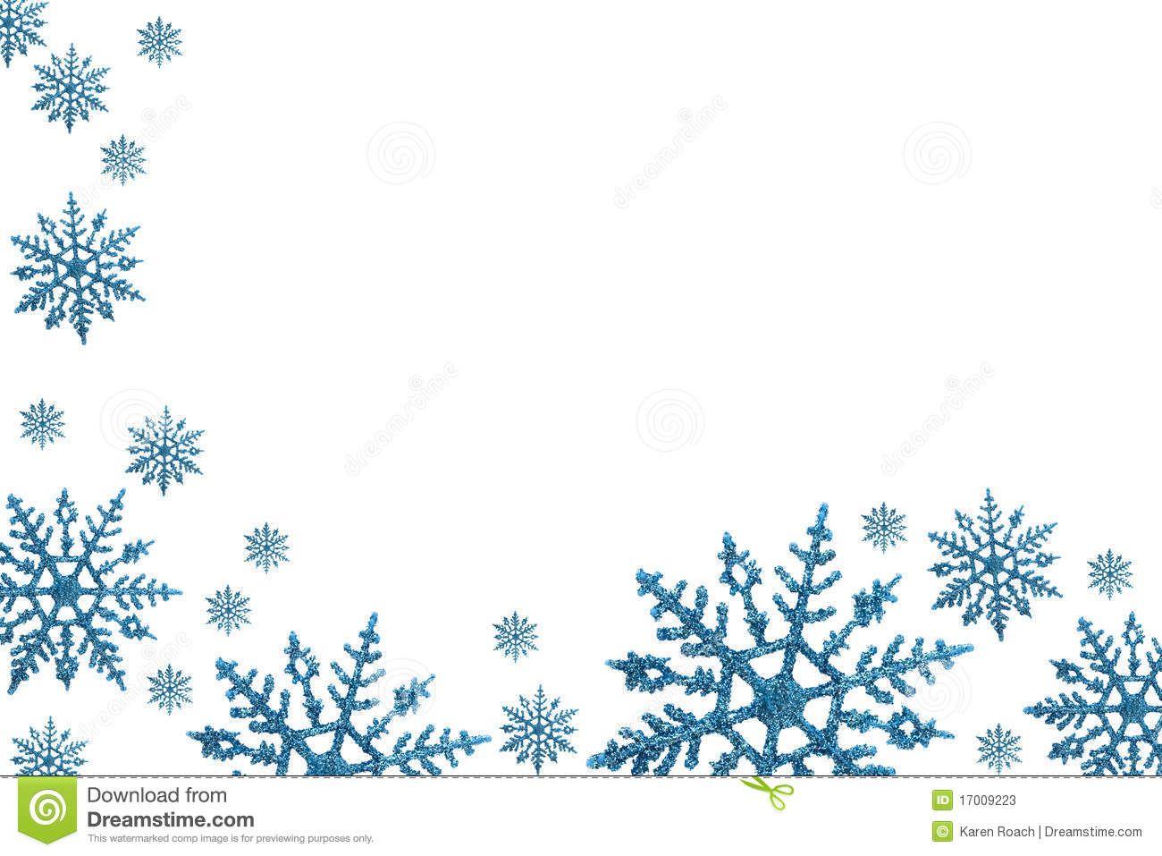 Winter border clipart.
