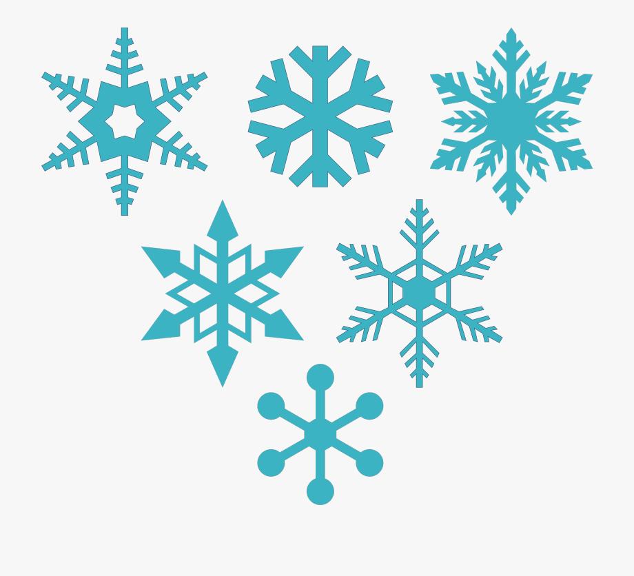 Snowflakes clipart frozen.