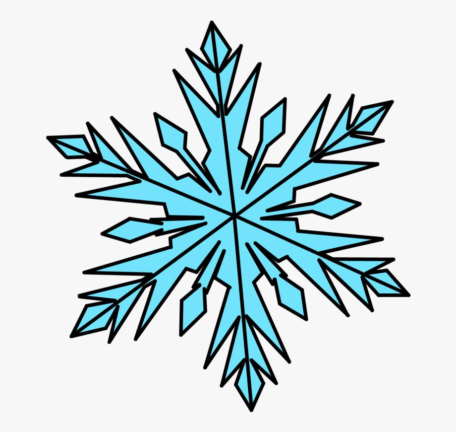 Elsa snowflake template.