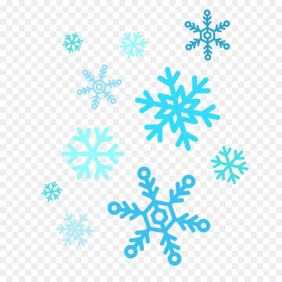 Snowflake background clipart.