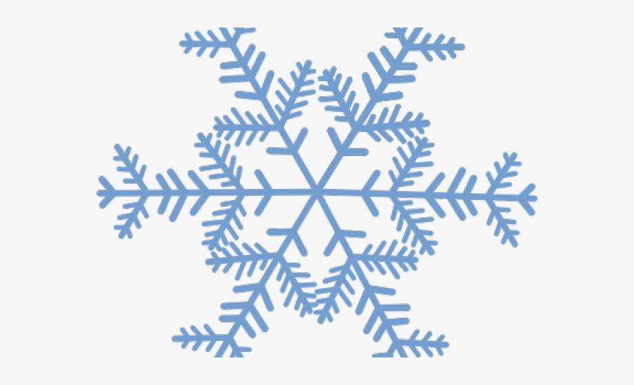 Transparent snowflakes cliparts.