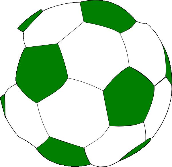 soccer ball clipart green