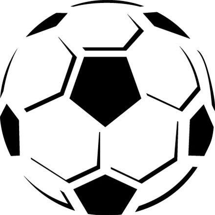Half soccer ball.