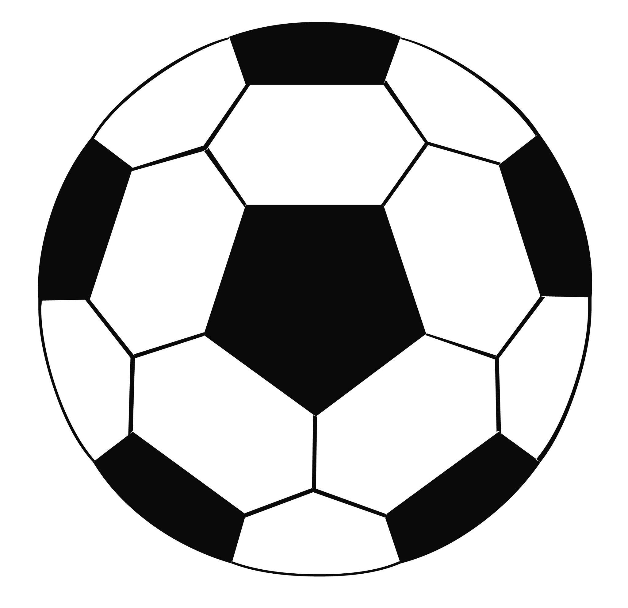 Soccer ball clip.