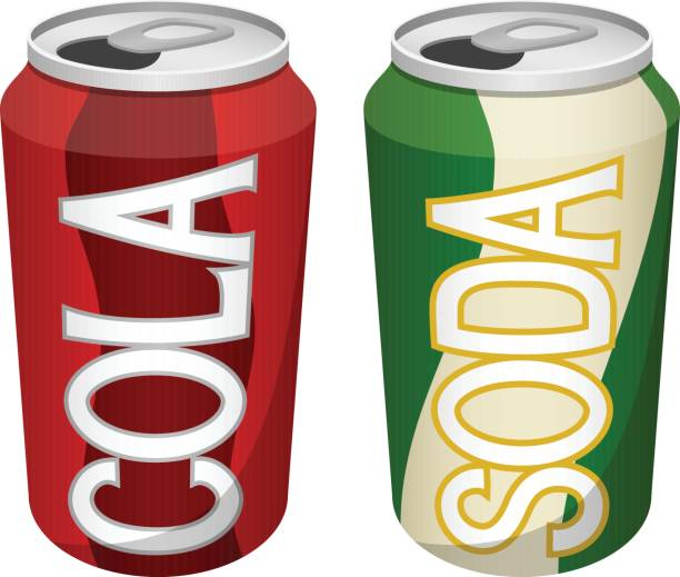 Pop can clipart.