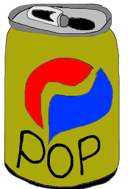 Free soda can.