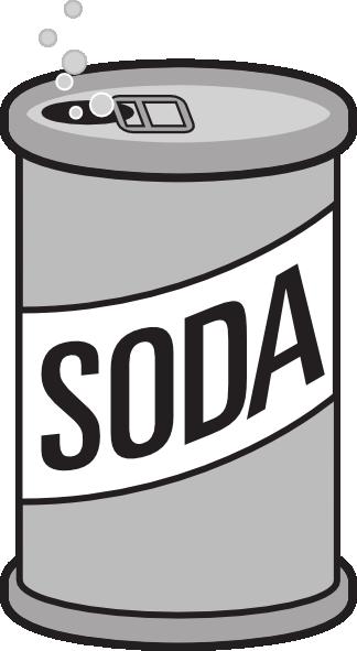 Soda can clip.
