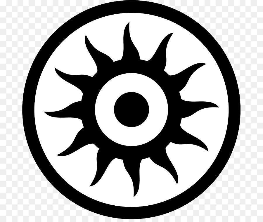 Schwarz sonne symbol.