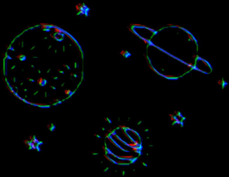 Aesthetic space kawaii.