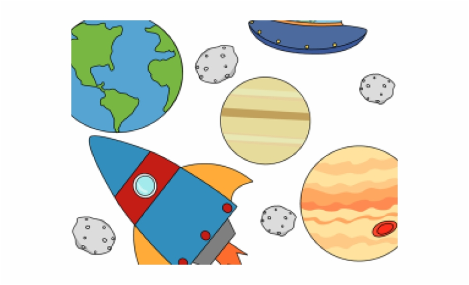 Planets clipart kid.