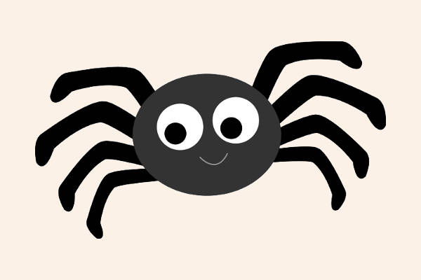 Spider cliparts free.