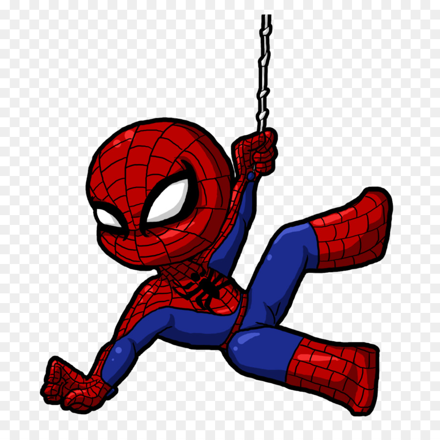 Spiderman drawing clipart.