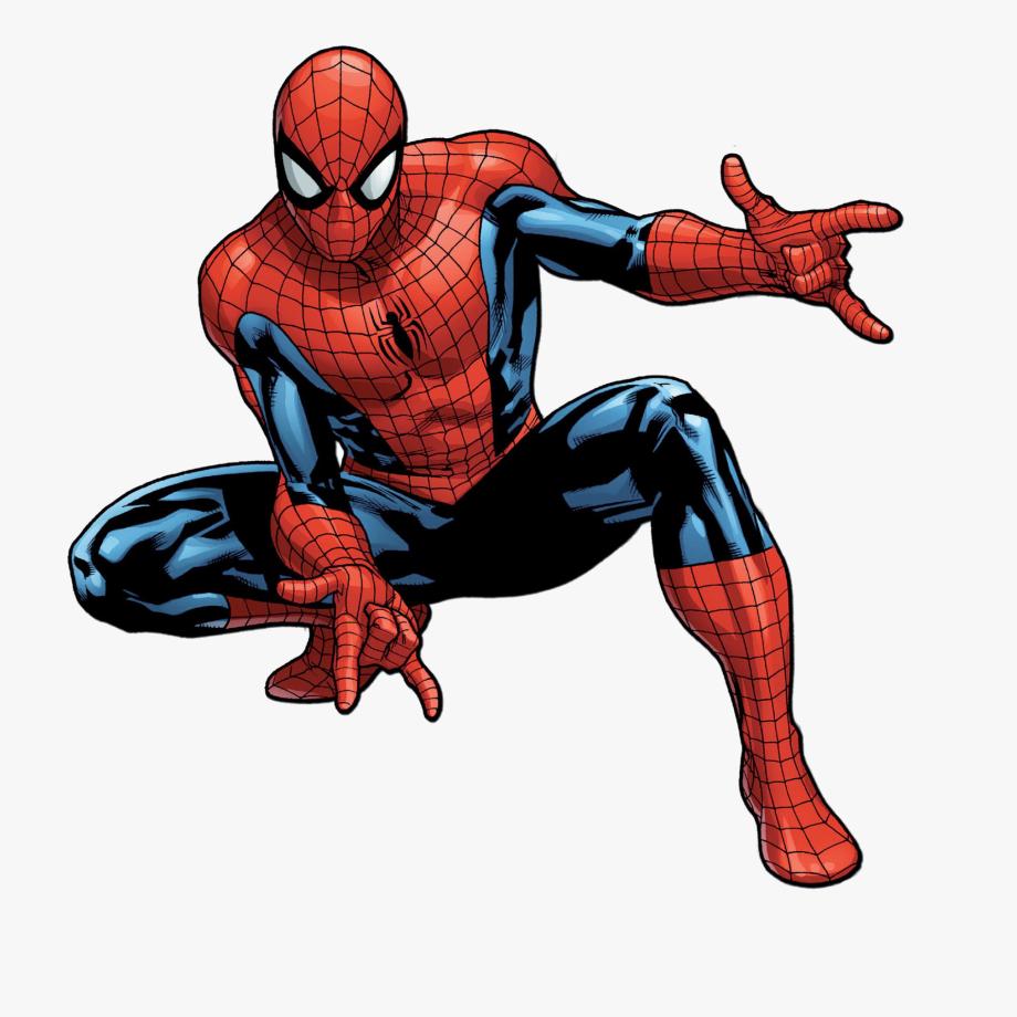 Superhero comics spiderman.