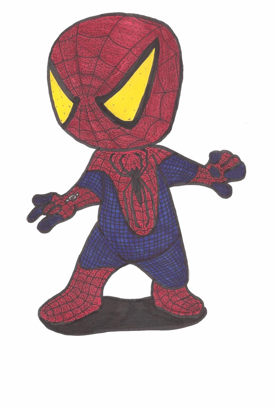 Hot drawing spiderman.