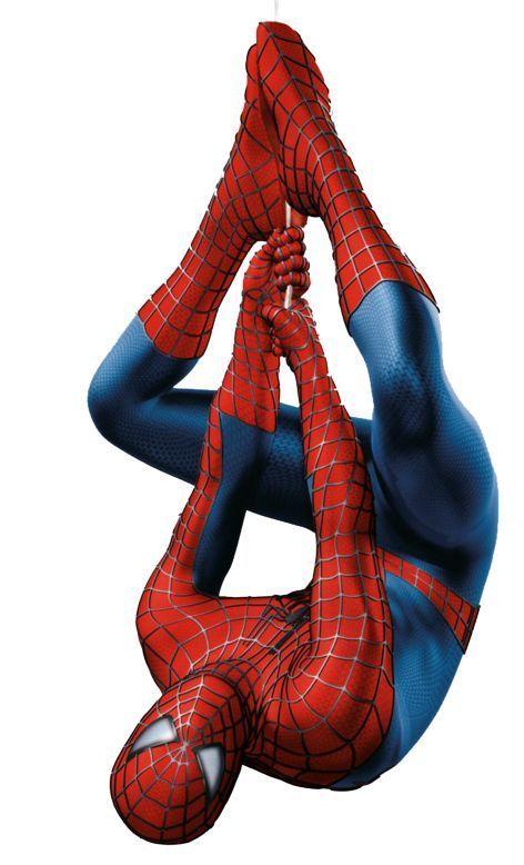 Spiderman clip art.