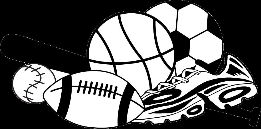Sports balls clip.