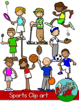 SPORT CLIP ART Included is a set of