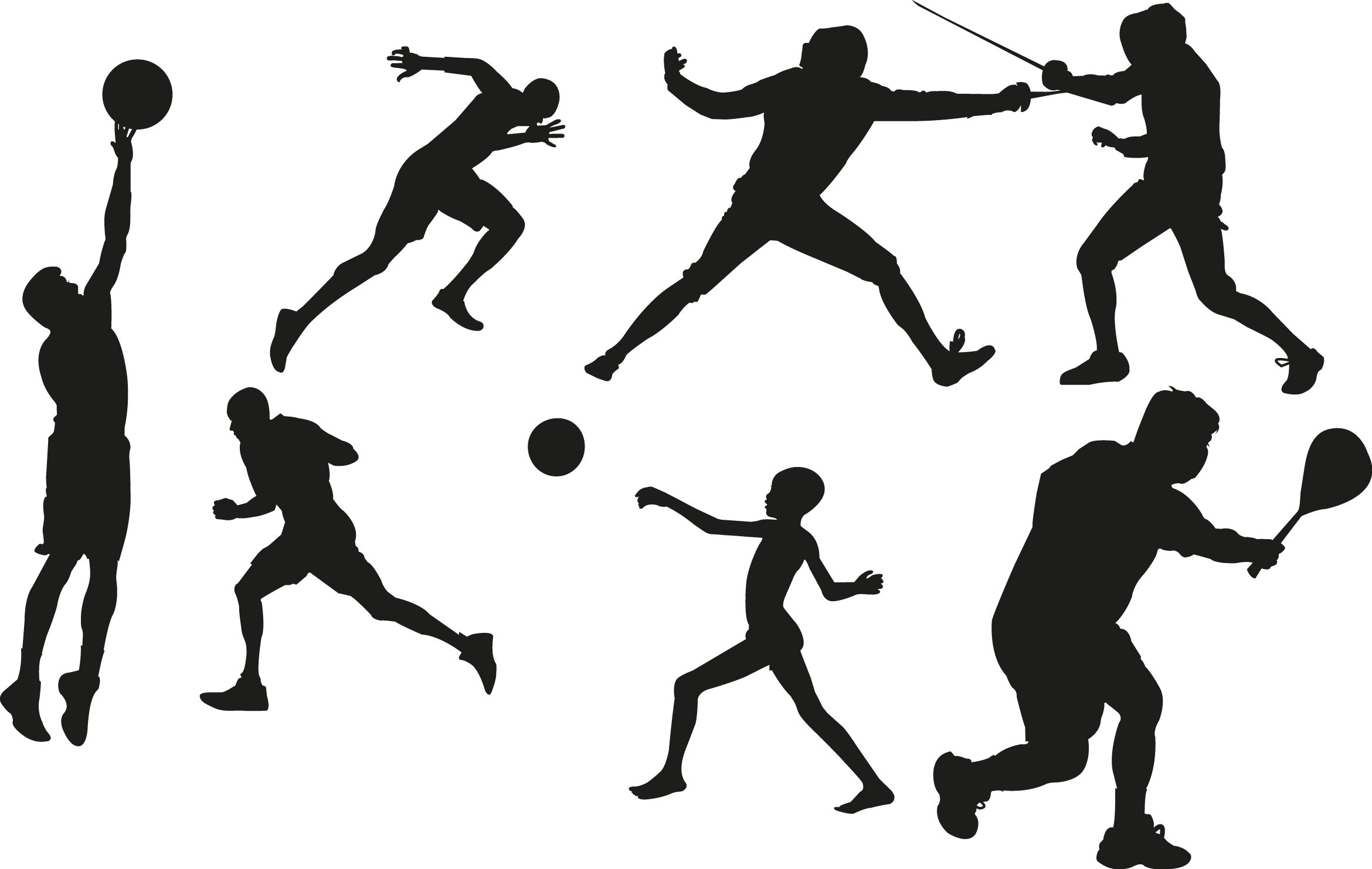 Free sports cliparts.