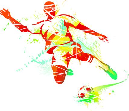Sports silhouette clip.