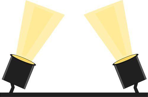 Spotlight clip art.