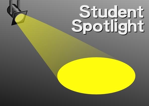 Student Spotlight clip art Free vector in Open office