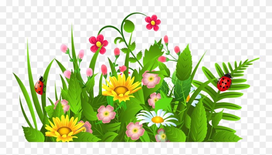Flowers clipart border.