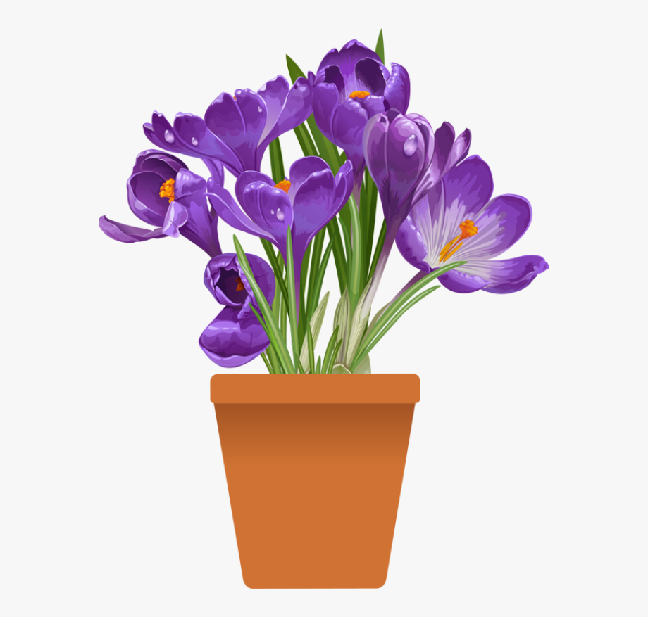 Spring flowers clipart purple pictures on Cliparts Pub 2020!
