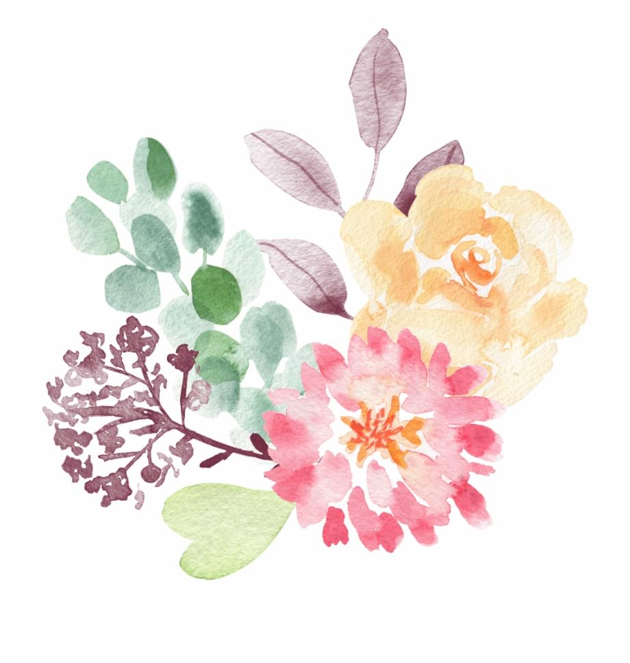 Flowers flower watercolor.