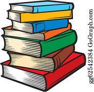 Stack books clip.