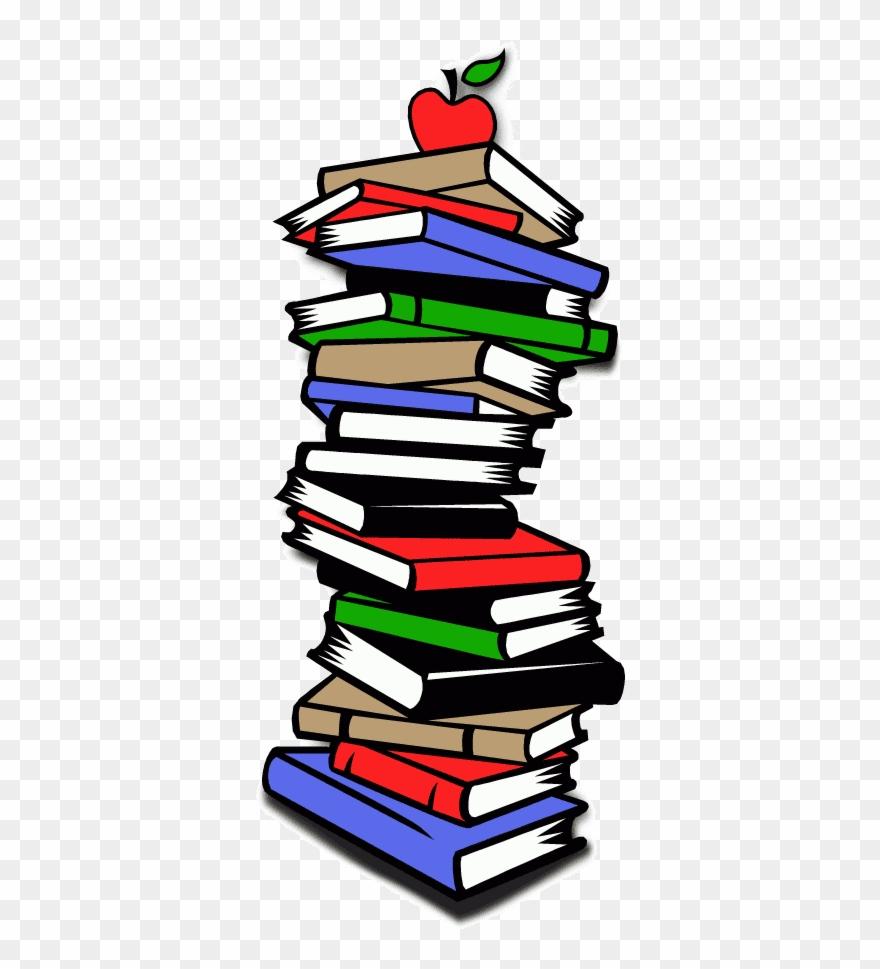 Clipart stack books.