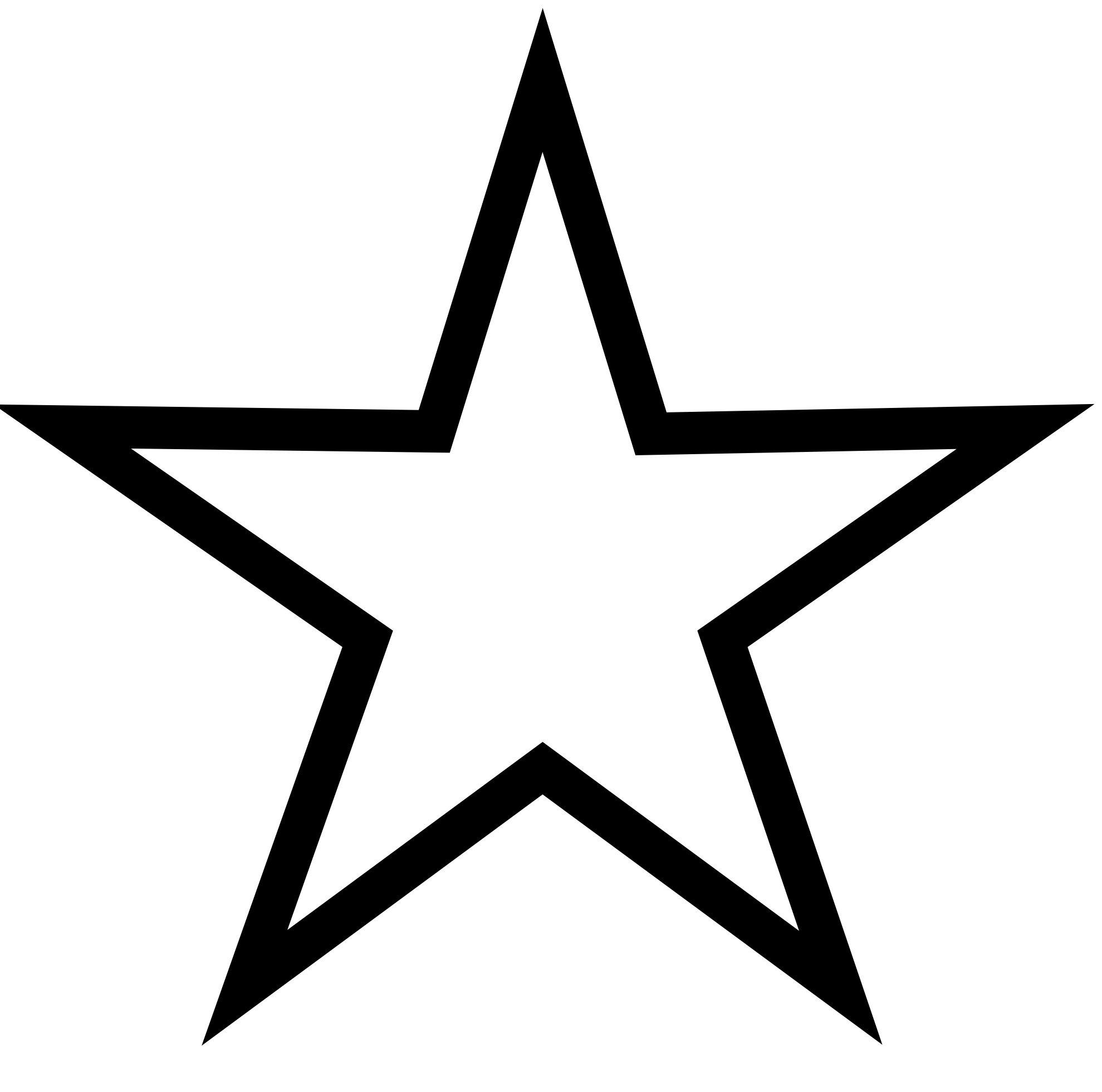Best Star Clipart Black and White