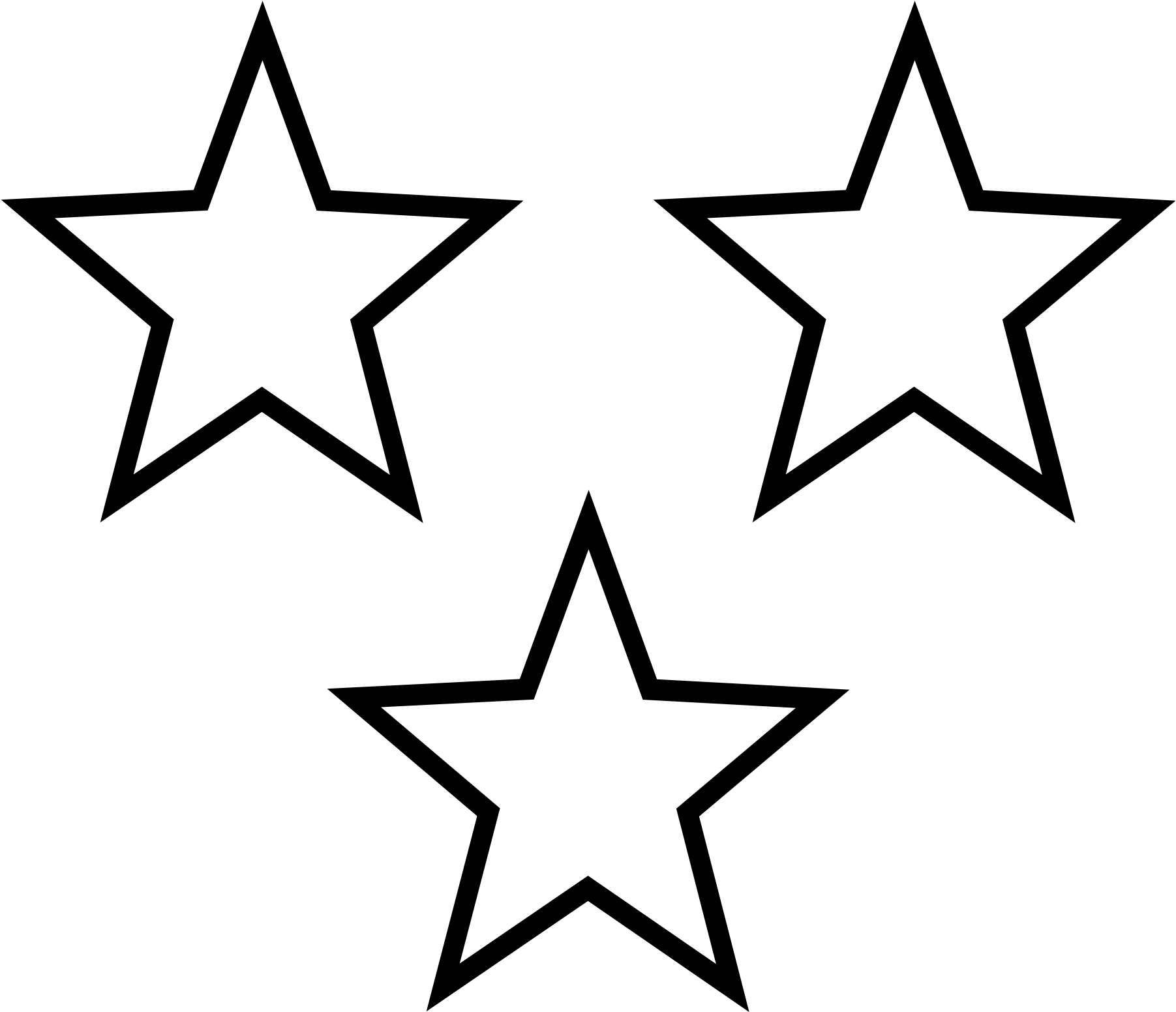 Free Star Clipart Black And White Free, Download Free Clip