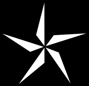Star clipart black