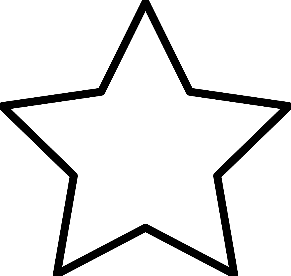 Free White Star Image, Download Free Clip Art, Free Clip Art