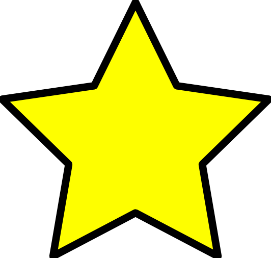Star clipart transparent.