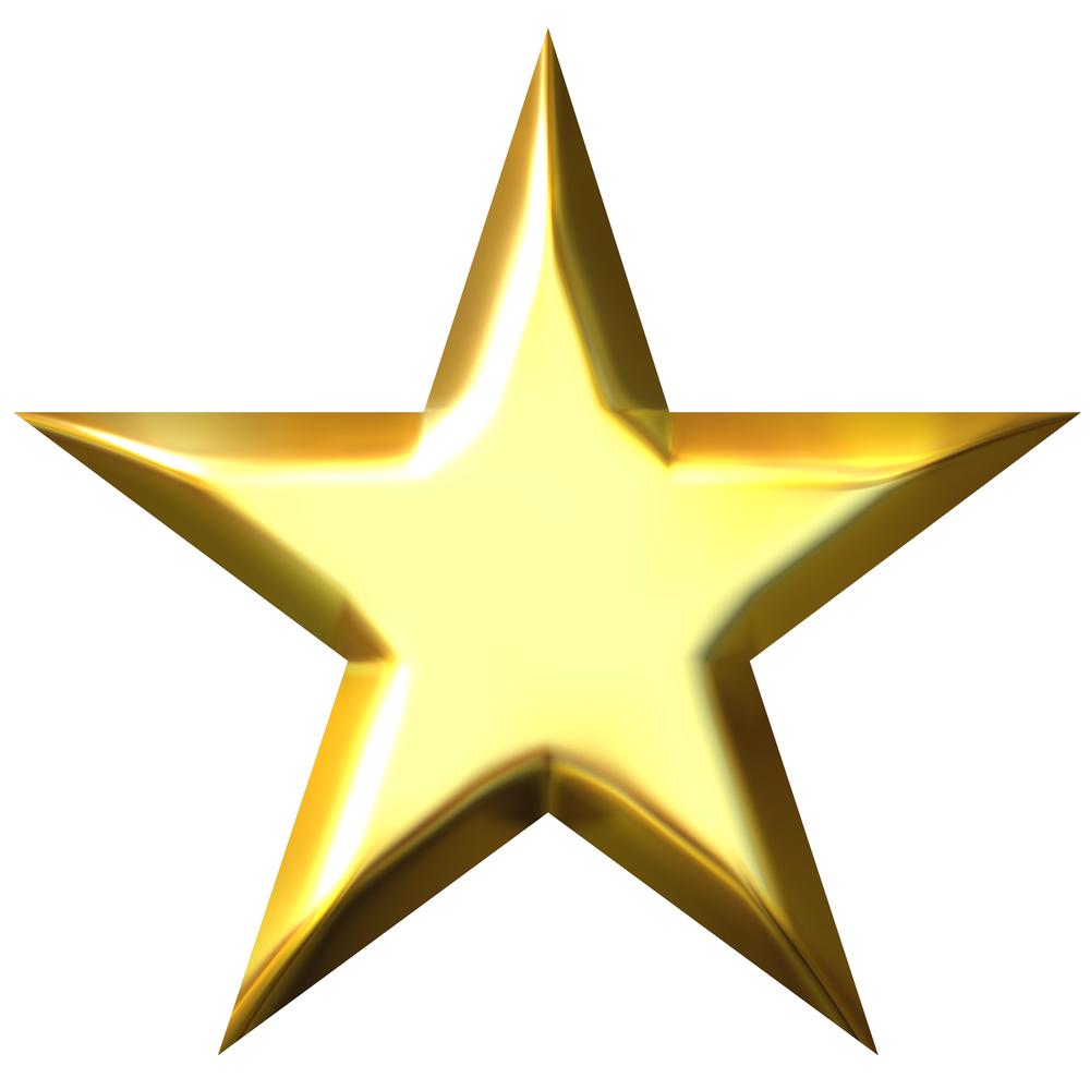 Free gold stars.