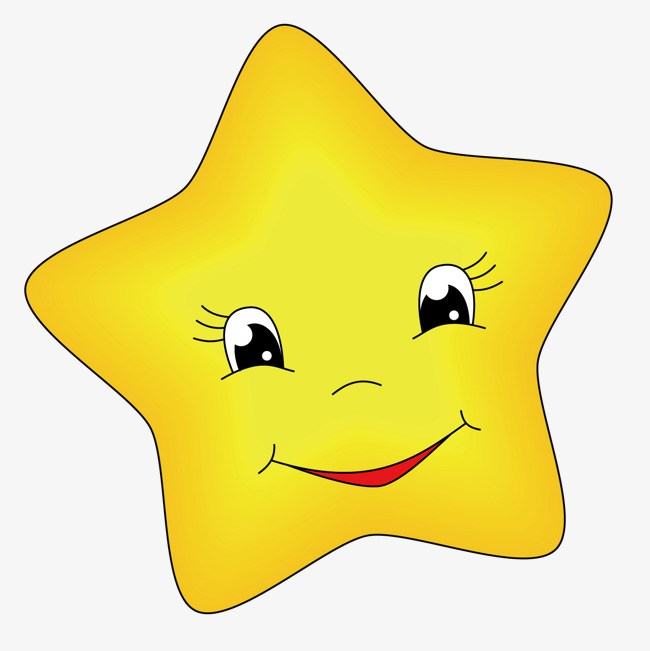 Happy star clipart.