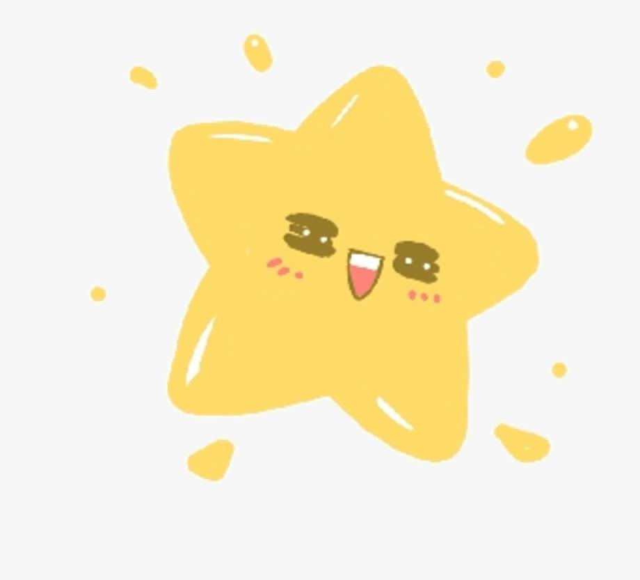 Kawaii star transparent.