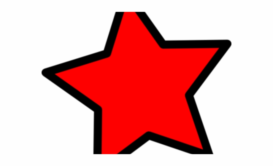 Red Star Clipart