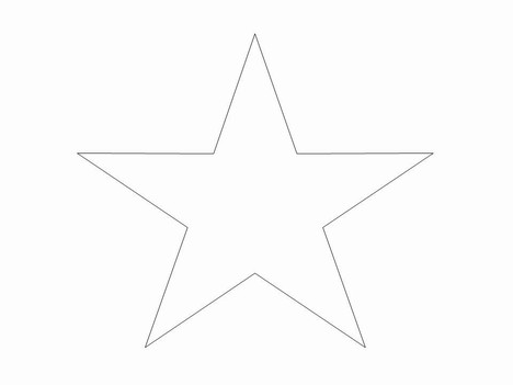 Free Small Star Outline, Download Free Clip Art, Free Clip