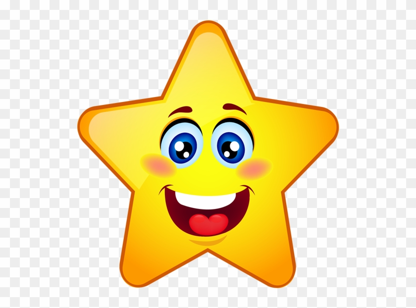 Clipart Stars Smiley Face
