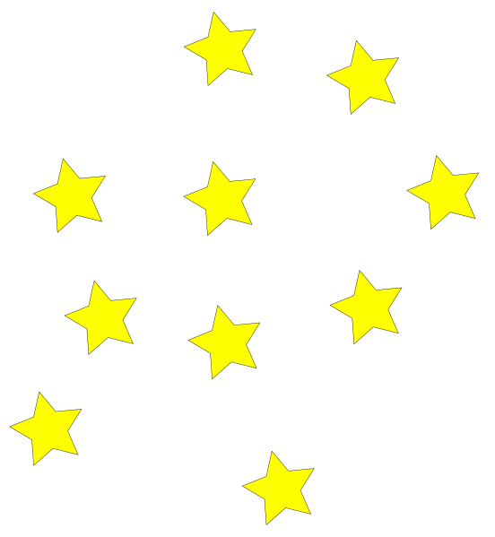 Free yellow star.