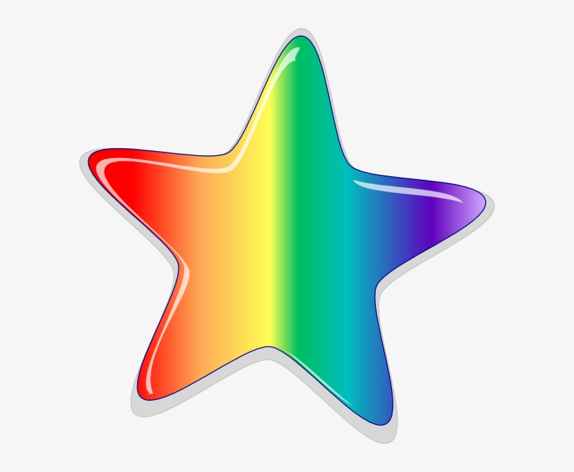 Rainbow Starburst Clipart Png Black And White Stock