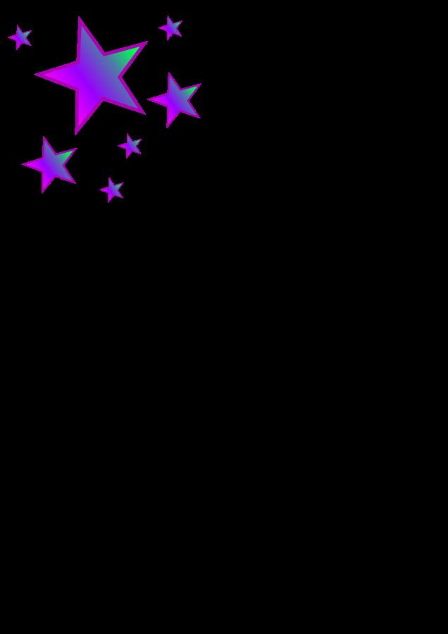 Small stars clipart.