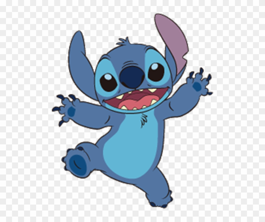 Stitch transparent png.