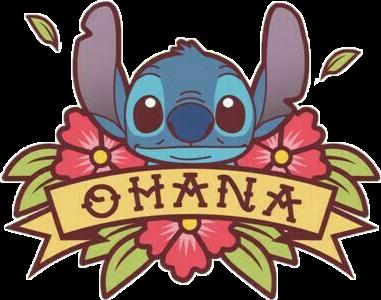 Freetoedit ohana stitch.